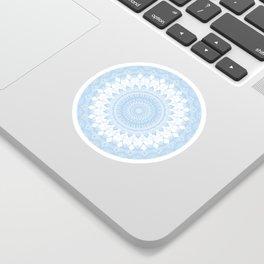 Baby Blue Boho Mandala Sticker