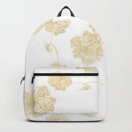 Golden Lotus offset Backpack