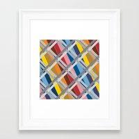 heroes of olympus Framed Art Prints featuring Olympus by Ramon J Butler-Martinez