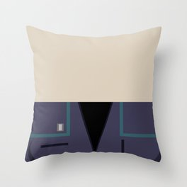 Ensign Hoshi Sato - Minimalist Star Trek: Enterprise ENT - Trektangle - Trektangles - startrek NX-01 Throw Pillow