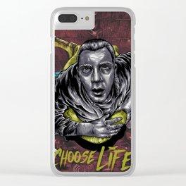 Choose Life. Clear iPhone Case