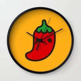 Cute chilli Wall Clock