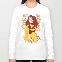 saga Long Sleeve T-shirts featuring The Dark Saga by ChristianCGTomas