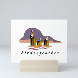 Birds of a Feather Mini Art Print