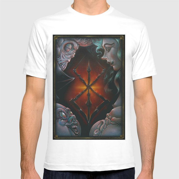 2367753c9 Hand of God   BERSERK T-shirt by rapaz art