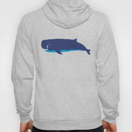 Whale you miss me? Hoody