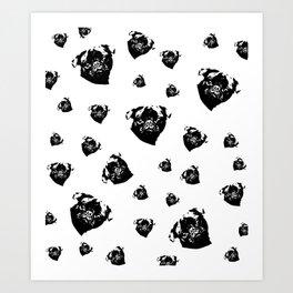 Pug Dog Gifts Art Print