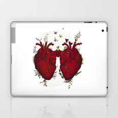 two hearts beating as one Laptop & iPad Skin