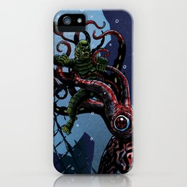 Gills and Tentacles iPhone Case