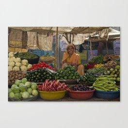 Bikaner lady Canvas Print