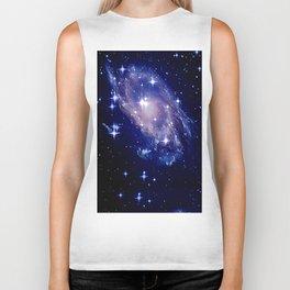 Galaxy deep in space. Biker Tank