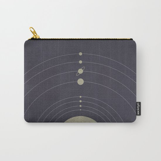 You are here (Solar System) Carry-All Pouch