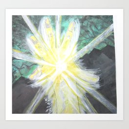 Being of Light  Art Print