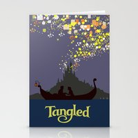 tangled Stationery Cards featuring Tangled by TheWonderlander