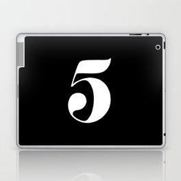 Number five Laptop & iPad Skin