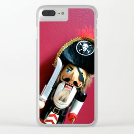 Shiver Me Timbers It's Christmas Clear iPhone Case