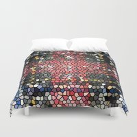 glass Duvet Covers featuring Glass by mari3000