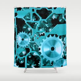 Like Clockwork Shower Curtain
