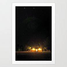 amplitude Art Print