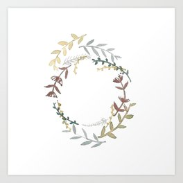Wreath Art Print