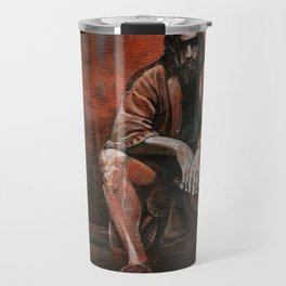 "The Dude, ""You pissed on my rug!"" Travel Mug"