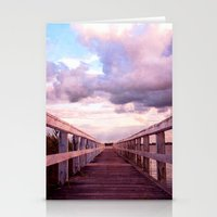 bridge Stationery Cards featuring bridge by Claudia Drossert
