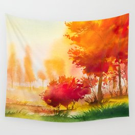 Autumn scenery #4 Wall Tapestry