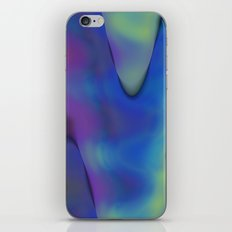 tie dyed waves iPhone & iPod Skin