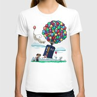 hallion T-shirts featuring Come Along, Carl by Karen Hallion Illustrations