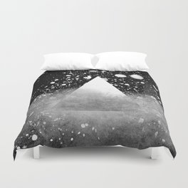 Triangle Composition IV Duvet Cover