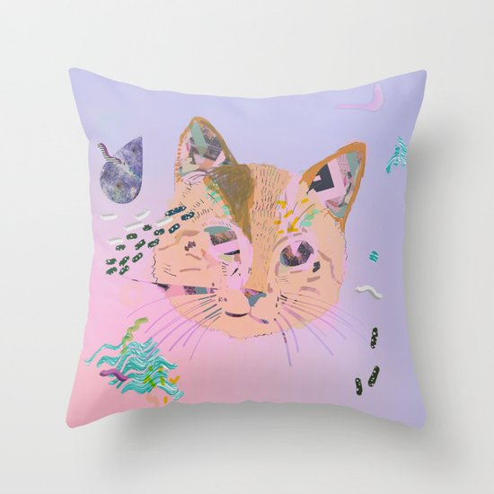 Time Out of Mind Throw Pillow