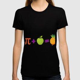 Pineapple Pi Science Geek Mathematics Symbol Humor T-shirt