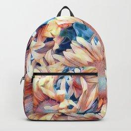 Aquarell Floral 03 Backpack