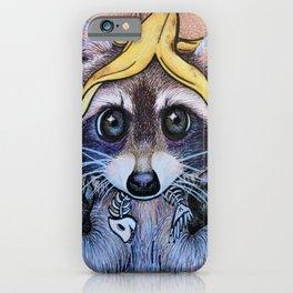 Guilty Trash Panda iPhone Case