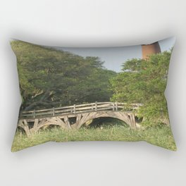 Currituck Light and Historic Bridge Rectangular Pillow