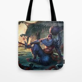 Classic Yasuo League Of Legends Tote Bag