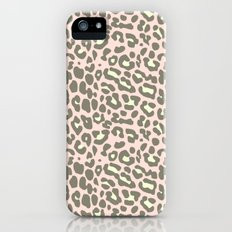 missy leopard iPhone (5, 5s) Slim Case