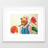 cuba Framed Art Prints featuring Cuba by Ela Caglar