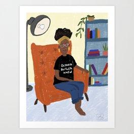 Octavia Butler Knew Art Print