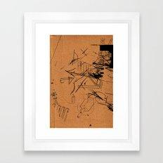 HANDLE WHIT CARE 4 Framed Art Print