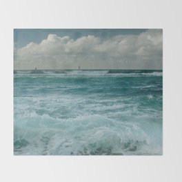 Hookipa Maui North Shore Hawaii Throw Blanket