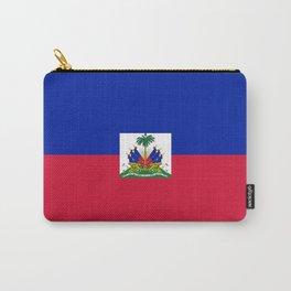 flag of haïti Carry-All Pouch