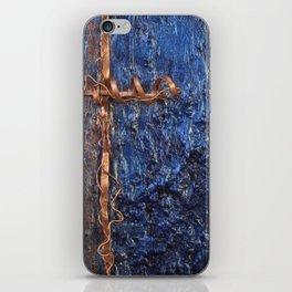 copper cross iPhone Skin