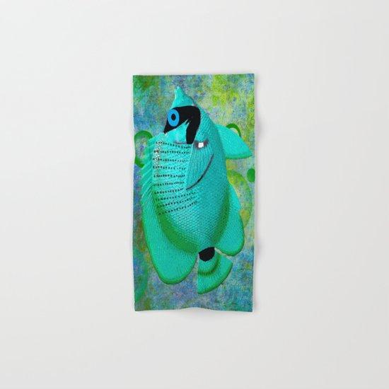 ANGEL FISH BLUE Hand & Bath Towel
