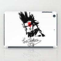 beethoven iPad Cases featuring Beethoven Punk by viva la revolucion