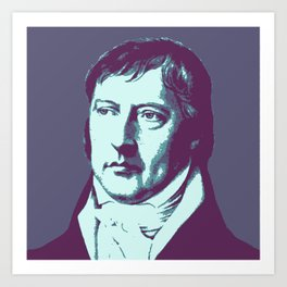 Georg Hegel Art Print