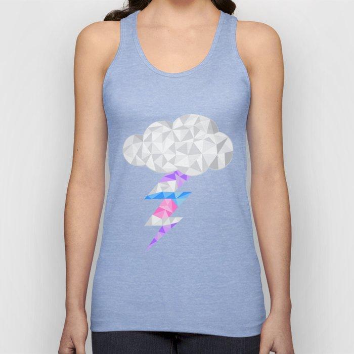 Intersex Storm Cloud Unisex Tank Top