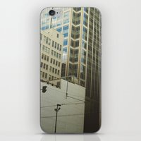 minneapolis iPhone & iPod Skins featuring Minneapolis Collage by Tristan Bowersox McQueen