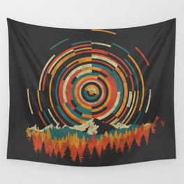 The Geometry of Sunrise Wall Tapestry