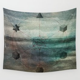 Platonic Solids Wall Tapestry